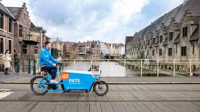 """Stefan Van Rompaey: """"Carrefour, Decathlon en Coolblue zijn volop elektrische cargofietsen aan het testen."""""""
