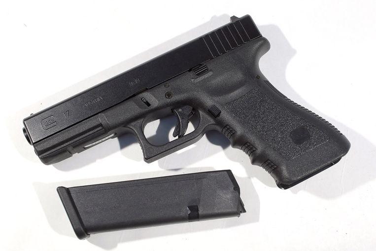 Een pistool van Glock Beeld afp