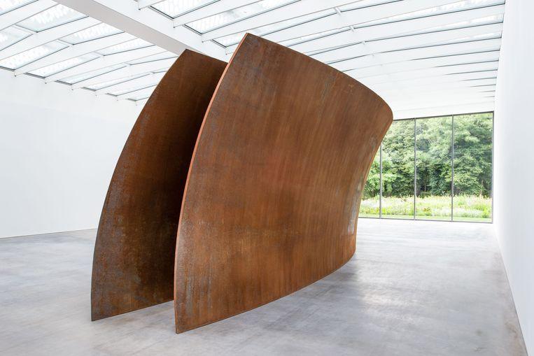 Open Ended van Richard Serra in Museum Voorlinden, Wassenaar. Beeld Museum-Voorlinden