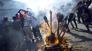 Geweld straatprotesten in hoofdstad Haïti houdt aan