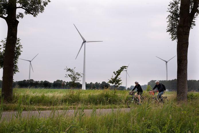 Windmolens in Aalten. Foto ter illustratie.
