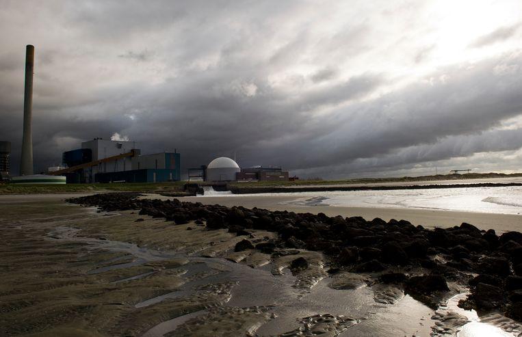 De kerncentrale van Borssele Beeld ANP