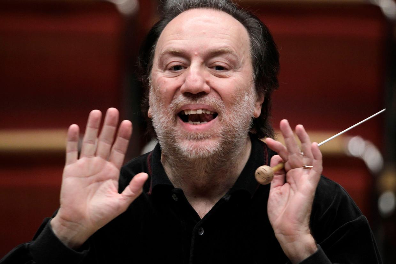 Riccardo Chailly, tegenwoordig de baas van La Scala in Milaan, was tussen 1988 en 2004 chef van het Concertgebouworkest. Beeld ullstein bild via Getty Images