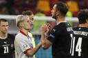 Marko Arnautovic is geschorst voor het beledigen van een tegenstander.