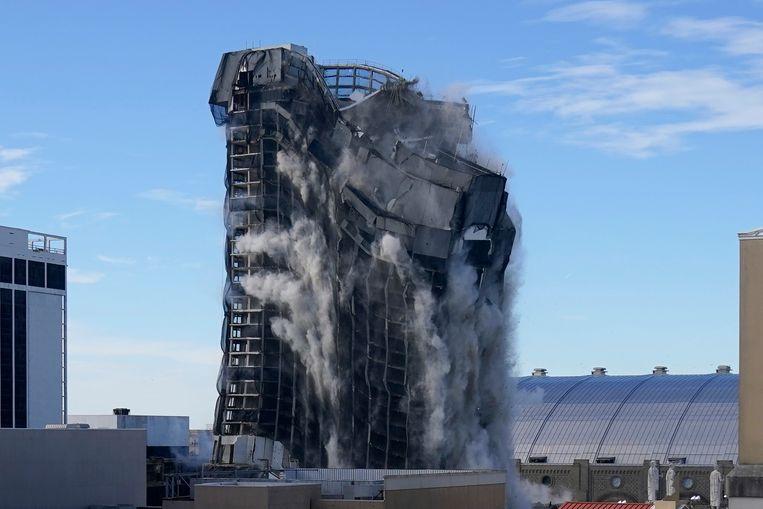 Het was ooit het meest bezochte casino van de Amerikaanse gokstad Atlantic City. Beeld AP