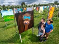 Kunstproject 'The Colorfield Performance' in Park Lingezegen uitgebreid met 24 panelen