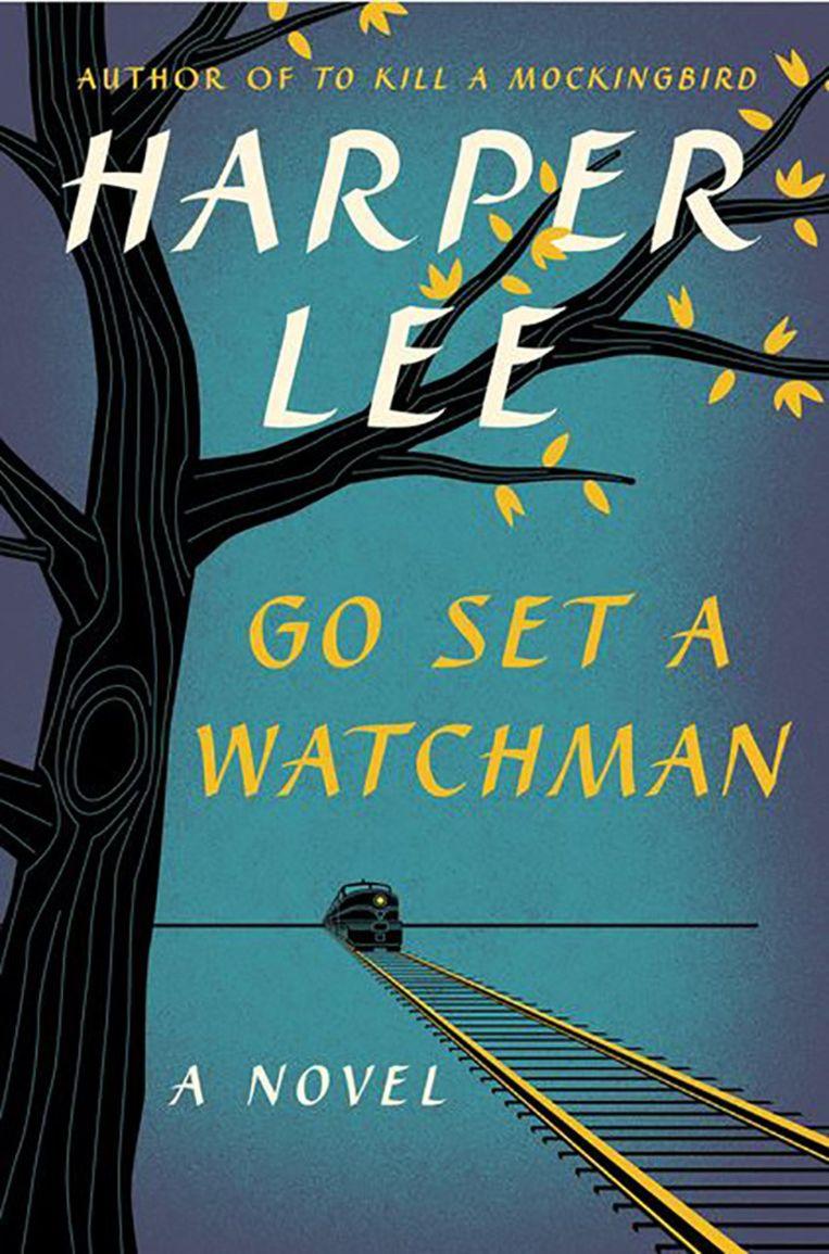 De cover van het boek Go set a Watchman dat volgende week dinsdag uit komt. Beeld screenshot