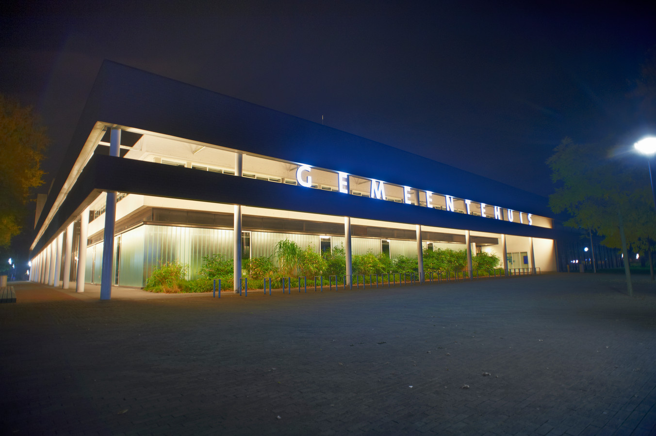 Het gemeentehuis van Oss, winnaar van de tweede editie van 'het mooiste gebouw van Oss'.