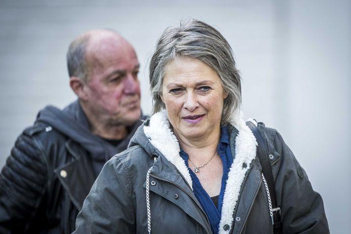 Ouders Berthie en Peter Verstappen komen aan bij de rechtbank in Maastricht. (07/10/2020)