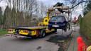 De wagen werd maandag getakeld op politiebevel.