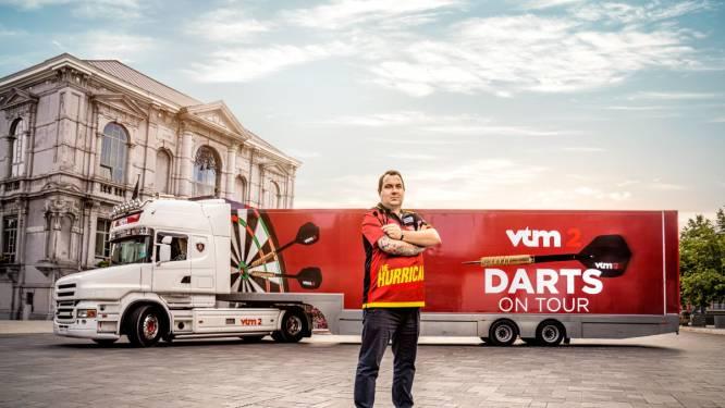 Gooi zelf een pijltje in darts-truck van VTM