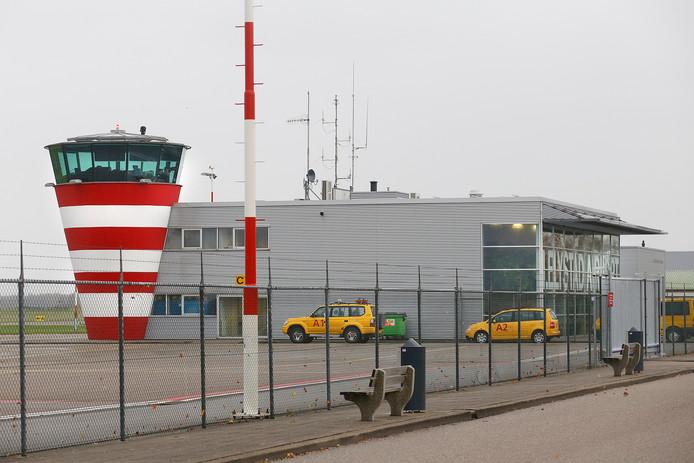 Vliegveld Lelystad.
