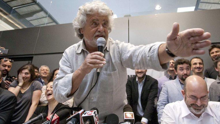 Beppe Grillo Beeld ap