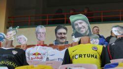 Gek, gekker, gekst: Wit-Russische landskampioen vult leeg stadion met 'virtuele fans'