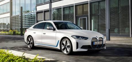 Elektrische BMW i4 geeft zich bloot