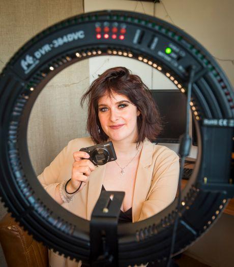 Hengelose Valerie neemt het in minidocumentaire op voor ondernemers die het zwaar hebben: 'Velen dreigen ten onder te gaan'