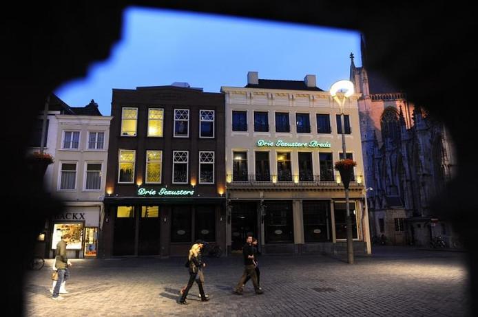 De Drie Gezusters in Breda, na de wederopbouw. foto René Schotanus