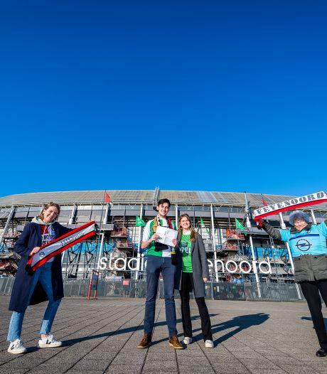 Fanatieke Feyenoord-familie kijkt uit naar zondag: 'Wedstrijd in de Kuip bijwonen voelt als thuiskomen'