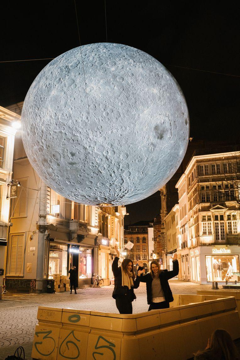 Museum of the Moon. Beeld Wouter Van Vooren