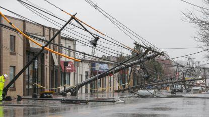Vijf doden en 1,7 miljoen huizen zonder stroom door storm VS