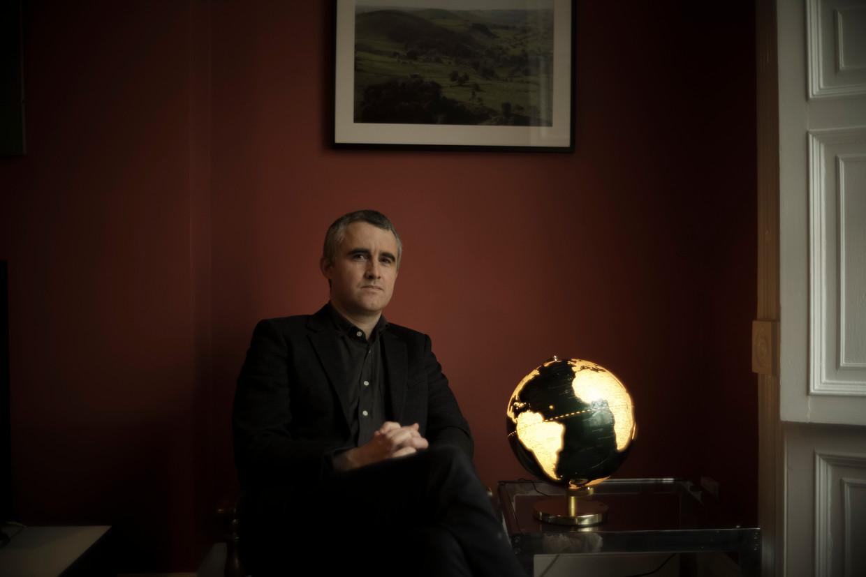 Richard Davies, thuis in Bristol:  Beeld James Beck for De Morgen