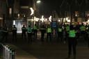 Op Urk liep een demonstratie tegen de avondklok uit de hand