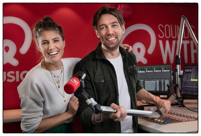 Radio-duo Mattie & Marieke van Q Music.