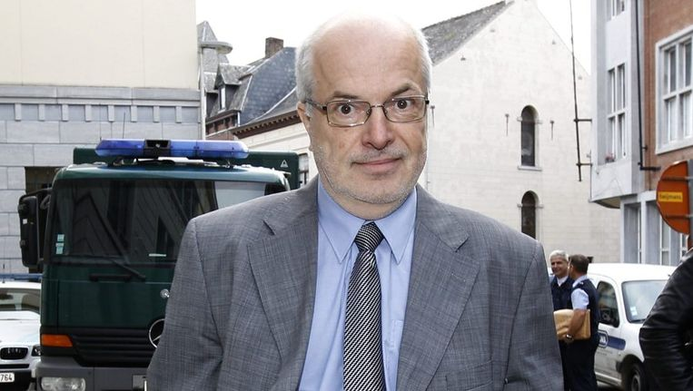 Adam Miskovic, de advocaat van Ronald Janssen. Beeld REUTERS