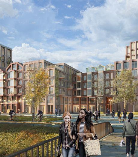 Groene binnentuinen, woontorens en twee grote pleinen: wordt dit de nieuwe Spuiboulevard?