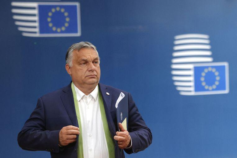 Viktor Orbán. Beeld AFP