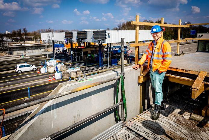 Adjunct-directeur Wouter Joosten: ,,We zijn 3,5 jaar bezig geweest om de plannen te ontwikkelen voor de nieuwe Kiltunnel. Nu zitten we middenin de verbouwing.''