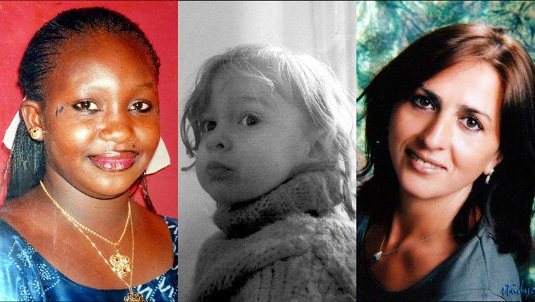 Oulematou Niangadou, Luna en Songül Koç Beeld photonews