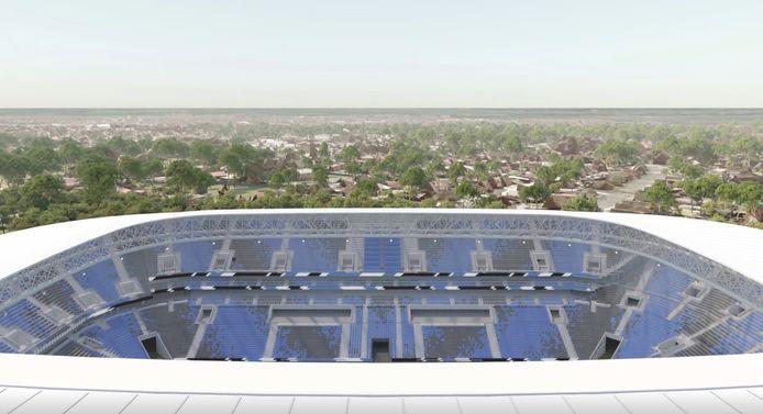 Het nieuwe stadion van Club Brugge heeft voor- én tegenstanders. Tegen de omgevingsvergunning zijn zo'n 120 bezwaren ingediend.
