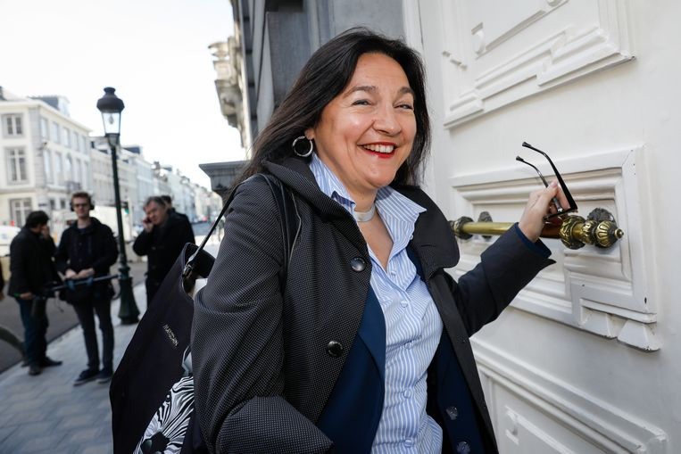 Federaal minister van Energie en Klimaat Marie Christine Marghem (MR). Beeld BELGA