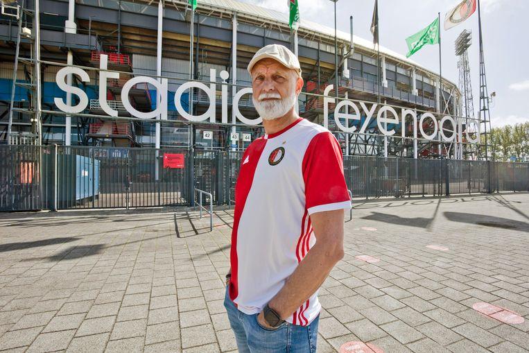 Professioneel fan Frans Reichardt. Beeld otto snoek