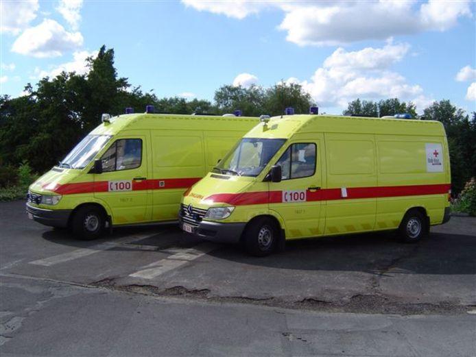 De look van de ambulances in 2004