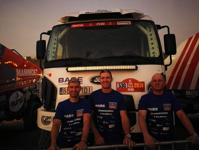 Yves Rutten en zijn team.