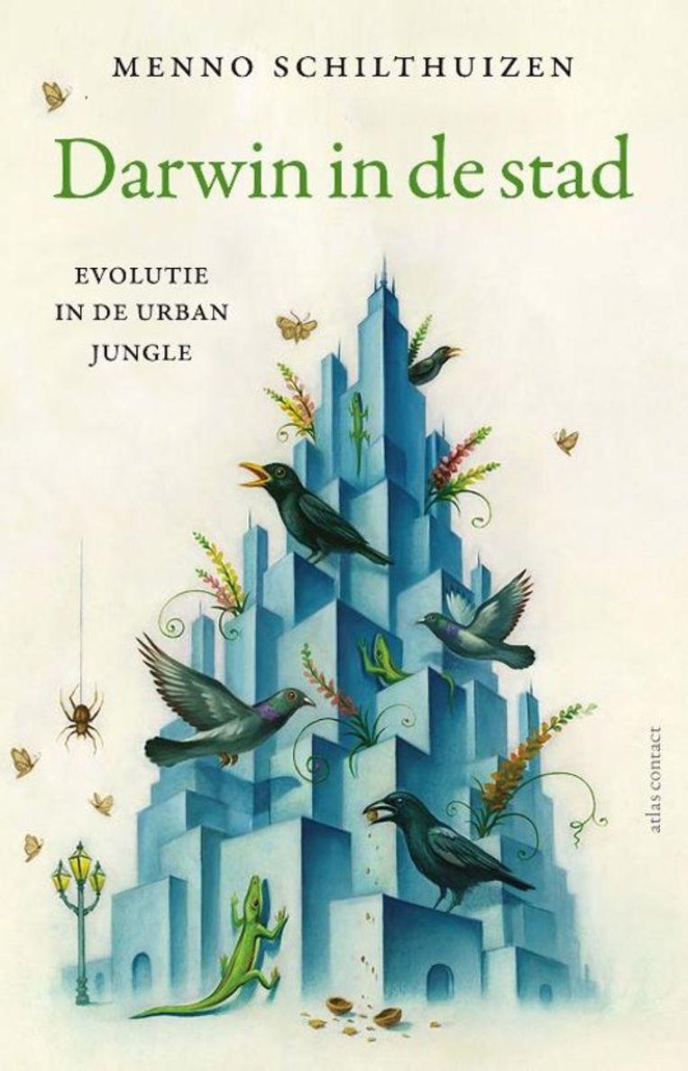 Menno Schilthuizen, 'Darwin in de stad', Atlas Contact, 352 p., 24,99 euro. Beeld rv