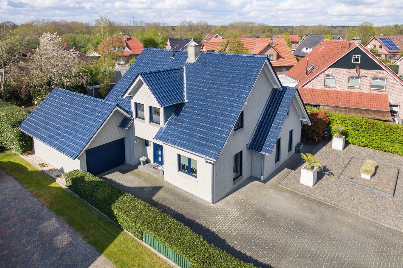 De villa in Itterbeck, over de grens bij Langeveen.