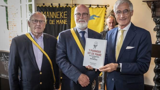 't Manneke uit de Mane viert dubbel jubileum met boek