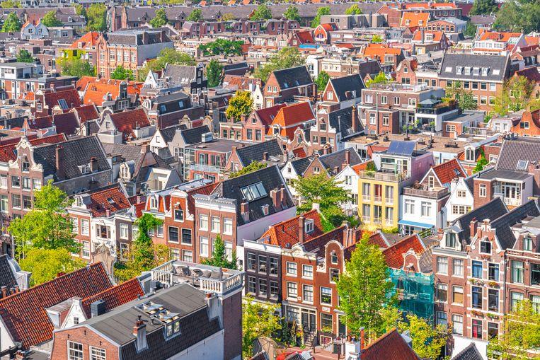 Er is fors meer aanbod: eind maart werd ongeveer een kwart méér huurwoningen aangeboden dan in dezelfde periode in 2020.  Beeld Getty Images