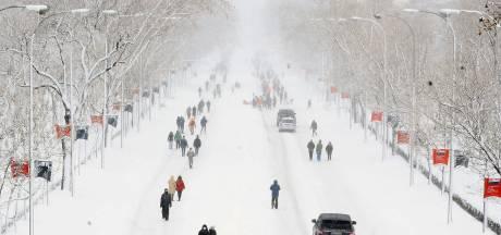 Trois morts, ski à Madrid et images spectaculaires: l'Espagne paralysée par des chutes de neige inédites