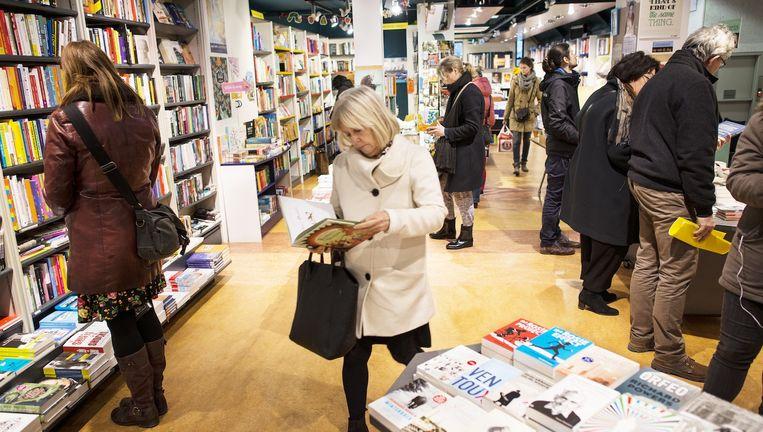 De Linnaeus Boekhandel in Amsterdam-Oost Beeld Maarten Steenvoort