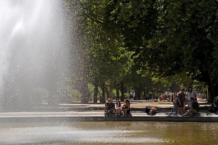 Het Warandepark in Brussel. Beeld Photo News