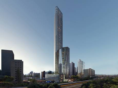 Spectaculair! Erasmusbrug-architect ontwerpt 230 meter hoge toren in hartje stad