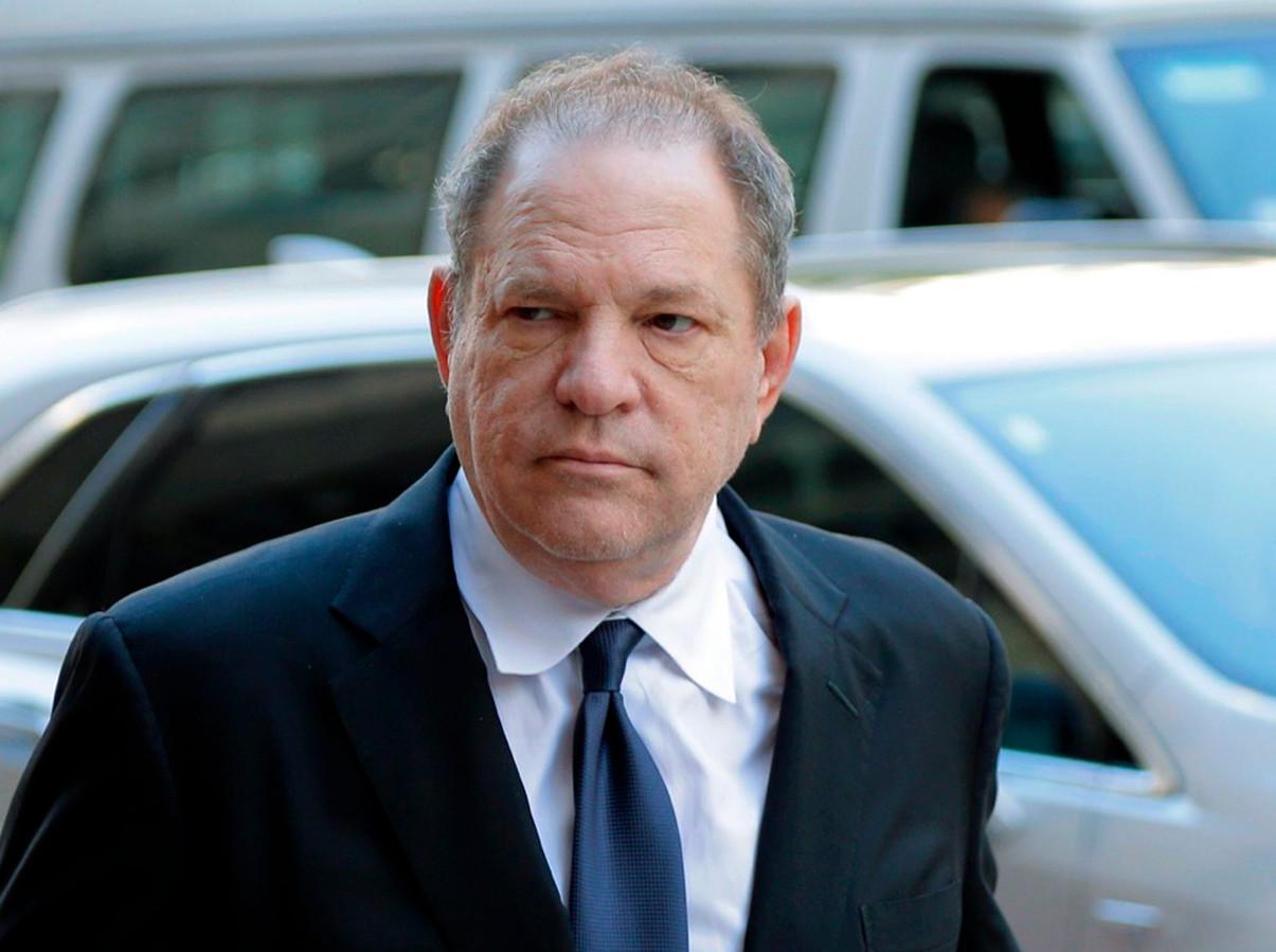 Harvey Weinstein à son arrivée devant la cour de New York, en juillet 2018