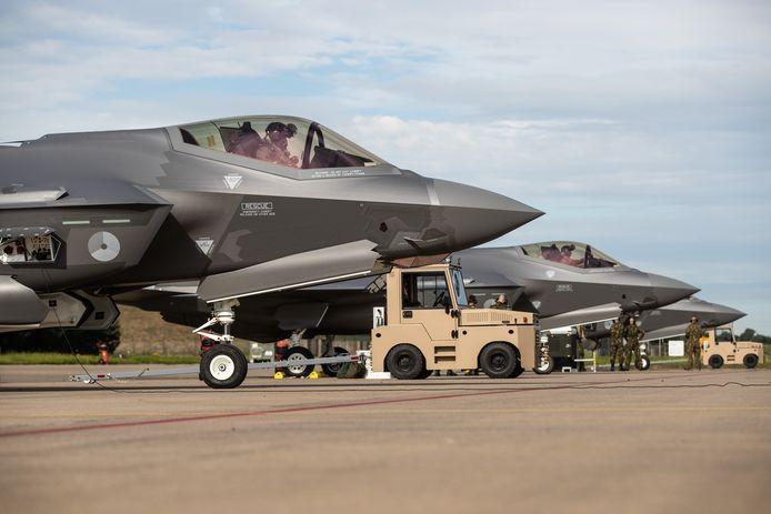 F-35 oefent twee weken op vliegbasis Volkel