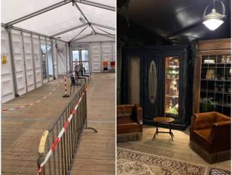 """Tijdelijke inkomzone ziekenhuis Geel omgetoverd tot sprookjesachtig decor: """"Hopelijk kunnen bezoekers daardoor eventjes alle zorgen vergeten"""""""