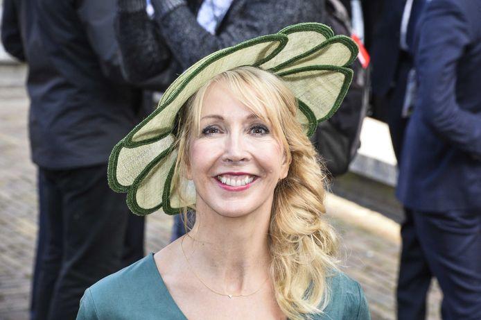 GroenLinks-Kamerlid Liesbeth van Tongeren tijdens Prinsjesdag.