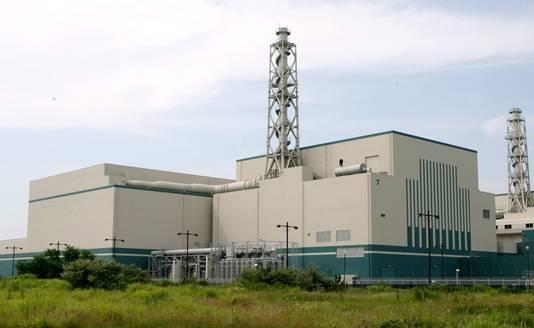 Archiefbeeld van de kerncentrale van Kashiwazaki-Kariwa.